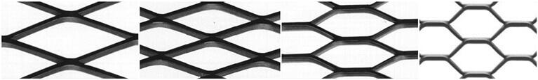 铝板网开孔形状